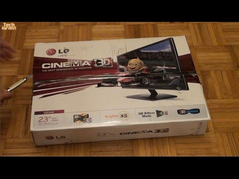 LG 23 Inch Cinema Passive 3D Widescreen Monitor - D2342P-MH