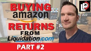 Unboxing Amazon Returns from Liquidation.com to Sell on Ebay, Pallet #1 *Part 2*