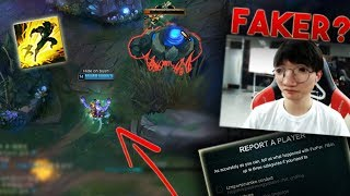Faker GRIEFS in a Korean Challenger Game | Best LoL Stream Moments #134