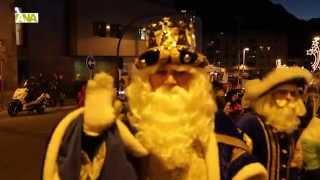 preview picture of video 'Els carrers d'Andorra la Vella i Escaldes s'omplen de gent per rebre als Reis Mags'
