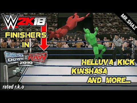 Download WWE 2k18 finishers which you get in svr 2010 but not in svr 2011 Wwe2k11 HD Mp4 3GP Video and MP3
