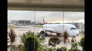 PHILIPPINE AIRLINES A350 BUSINESS CLASS | TRIP REPORT