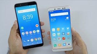 Asus Zenfone Max Pro (M1) ZB601KL 6GB Vs Xiaomi Redmi Note 5 Pro Comparison
