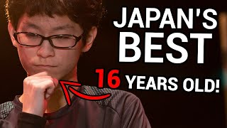 Japan's Best Smash Ultimate player comes to the US and DESTROYS everybody!