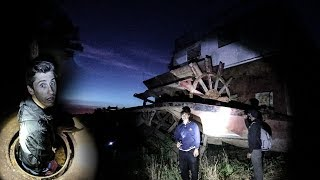 OVERNIGHT ON ABANDONED HAUNTED SHIP! (Viewer Warning for End of Video)
