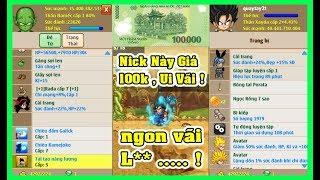Ngọc Rồng Online - Thử Mua Nick 40 Tỷ Sm Đệ VIP Giá 100k !