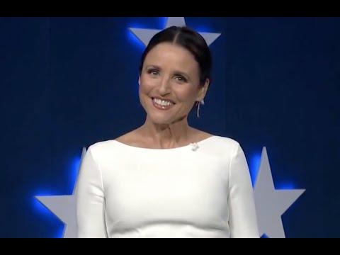 Julia Louis-Dreyfus's jokes during the Democratic National Convention
