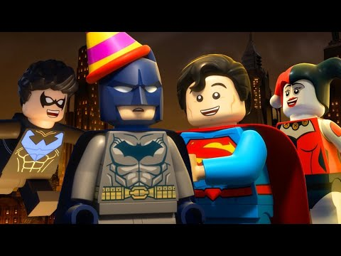 LEGO DC Super-Villains All Cutscenes Movie
