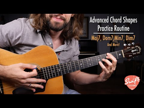 Advanced Chords Practice Routine - Guitar Lesson for Jazz, R&B, and Blues