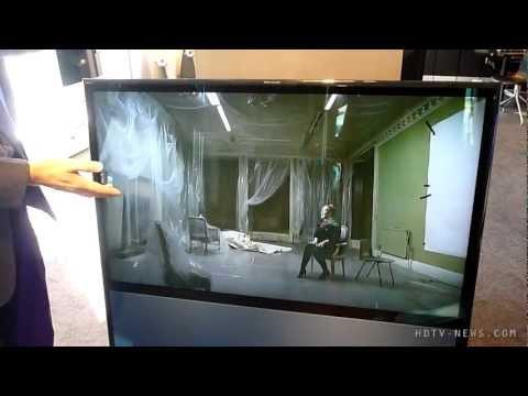 Bang & Olufsen BeoVision 11 HDTV Hands On
