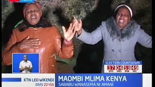 Maombi mlima Kenya: Kina mama wajikita kwa maombi kwa ajili ya imani