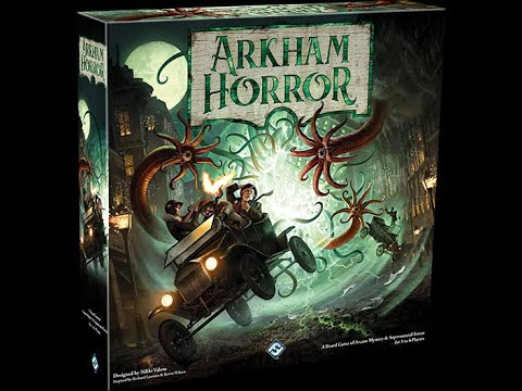 Tatooine Tableflip Unboxes Arkham Horror 3rd Edition