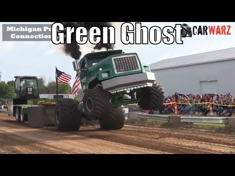 Download Semi Truck Pulls 2017 Kent City Pull Ft Green Ghost Video