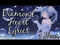 「Nightcore」Diamond Heart  - Alan Walker feat. Sophia Somajo  【1 HOUR Loop】 ♪♪  (Lyrics)