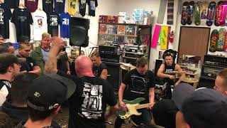 Strife - Forcing It To An End - Live at Programme Skate & Sound In Fullerton, CA on December 7, 2017