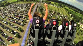 preview picture of video 'HUGE Rollercoaster in Rust / Europa Park / Silver Star / European biggest amusement park'