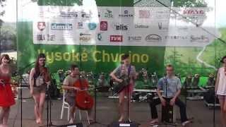 Barokní anděl - Seiftiů na Folkovém Chvojení 2013 - vítěz oblast