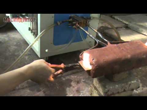 Индукционный нагрев тонкой пластины