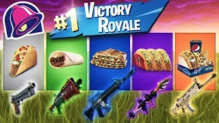 Taco Bell HELPS ME Win A Game of Fortnite! YOU'LL NEVER BELIEVE WHAT HAPPENED! (WELL THEY TRIED...)