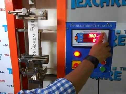 Tensile Strength Tester for HDPE and PP Bags