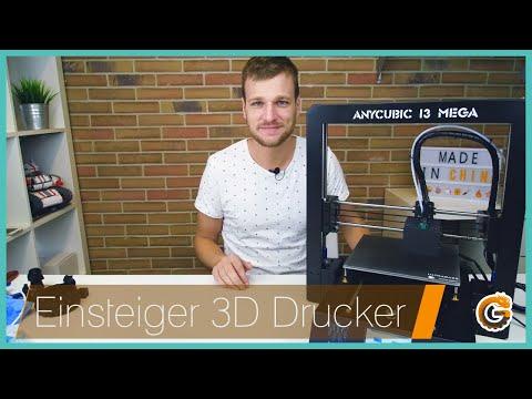 Anycubic I3 MEGA: DER 3D Drucker für Einsteiger? // Test   China-Gadgets