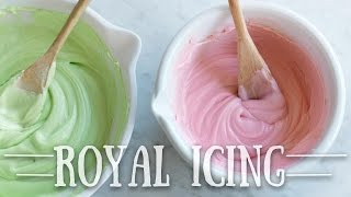 how to make royal icing for sugar cookies with egg white