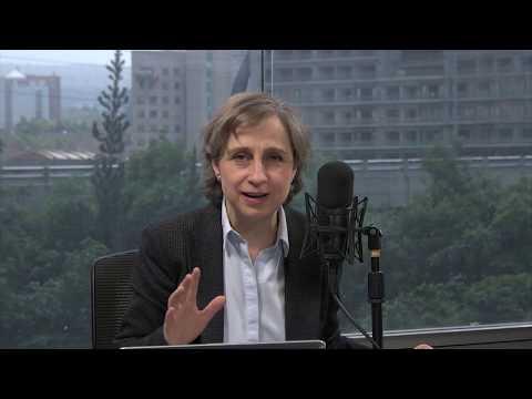 Carmen Aristegui ofrece mensaje con motivo del Día Mundial de la Libertad de Prensa