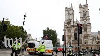 Several pedestrians injured after car crashes outside Britain