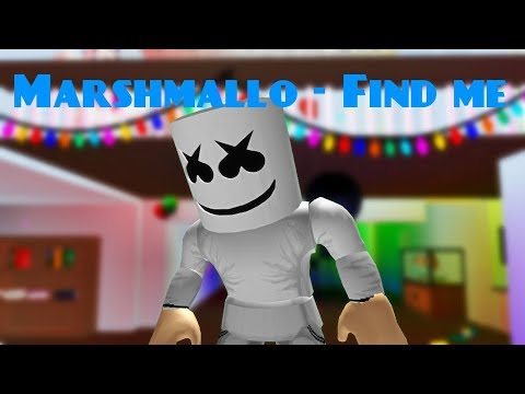Marshmello - Find me (ROBLOX MUSIC VIDEO)