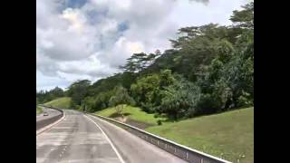 preview picture of video 'Driving from 99 Halawa Valley Street, ... to John A. Burns Freeway, Ka...'
