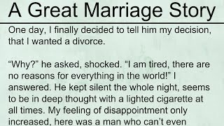 A Great Marriage Story