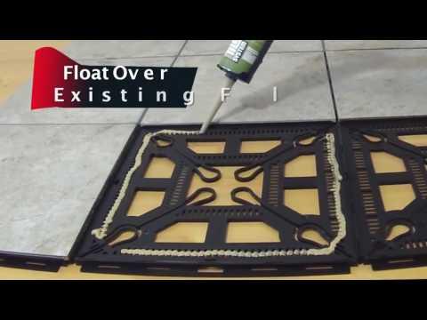 Ez TIle – Interlocking Floating Floor System
