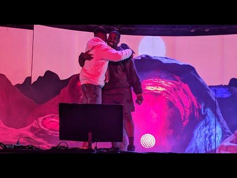 Kid Cudi x Kanye West - Reborn (Kids See Ghosts) Coachella Set 4/20/2019 [4K]