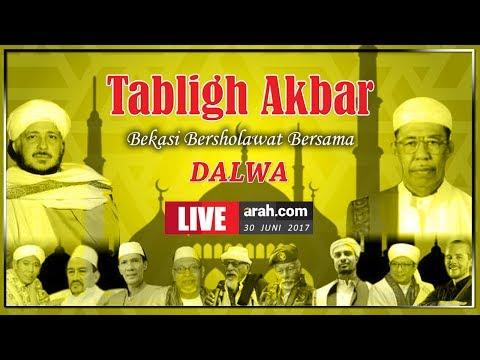 Tablik Akbar Bekasi Bersholawat Bersama Dalwa