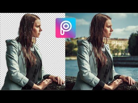 Video Cara Mudah Menghapus Background Foto Picsart di Android | Hanya Satu Klik