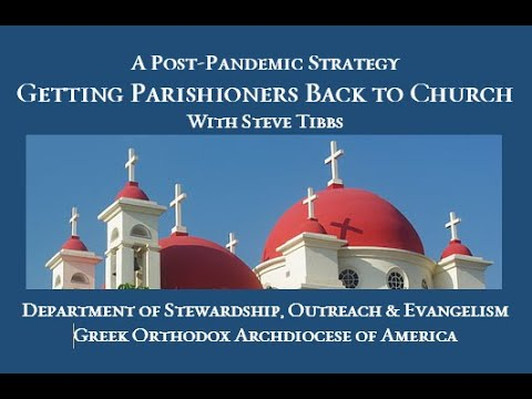 A Post-Pandemic Strategy: Getting Parishioners Back to Church