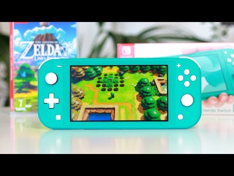Link's Awakening & Switch Lite Unboxing!