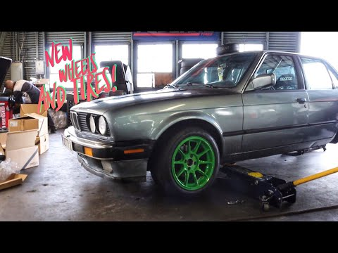 E30 NEW WHEELS AND TIRES