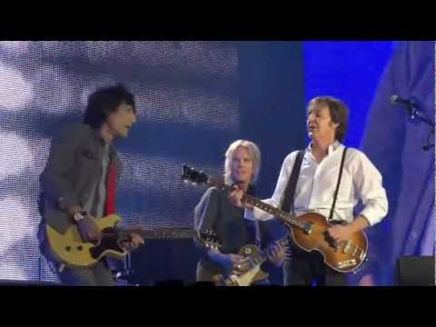 Concierto Paul McCartney & Ronnie Wood
