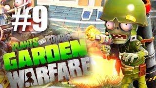 ОНИ ХОТЯТ МОЗГИ! #9 Plants vs Zombies: Garden Warfare (HD) Играем первыми