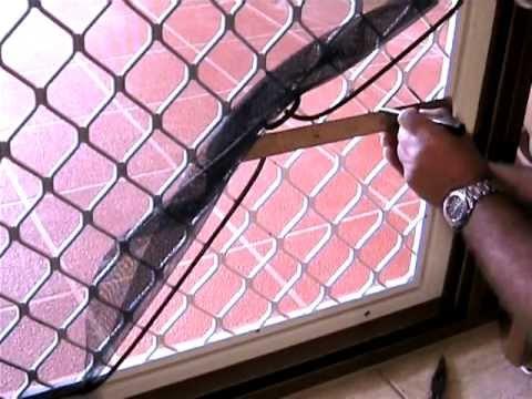 Petway Pet Doors - DIY Fitting Instructions - Security Screen Door