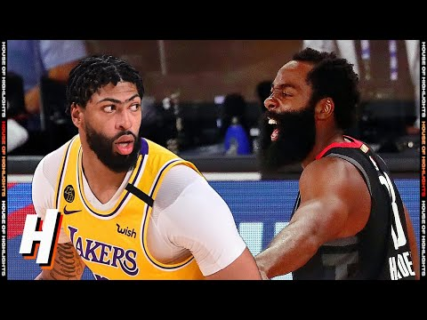 Los Angeles Lakers vs Houston Rockets – Full Game Highlights | August 6, 2020 | 2019-20 NBA Season