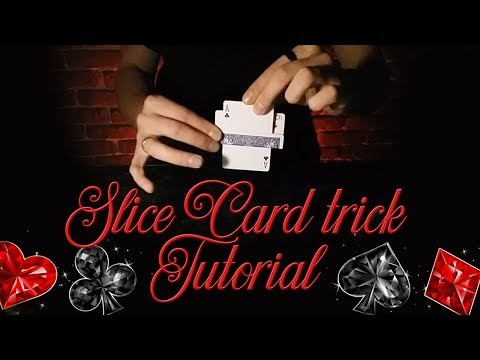 Slice Сard Trick by TrueMagicLessons