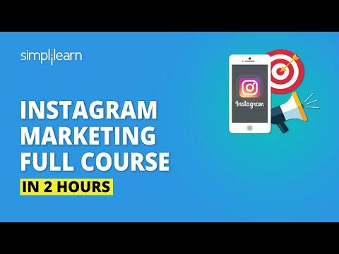 Instagram Marketing Full Course In 2 Hours | Instagram Marketing Tutorial For Beginners |Simplilearn
