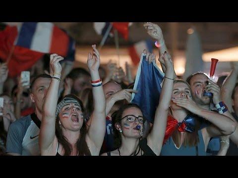 Εuro2016: Ολονύχτιοι πανηγυρισμοί στην Γαλλία