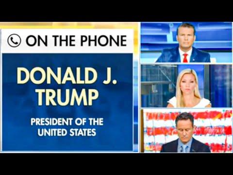 Fox & Friends Stare In Terror As Trump Says Children Are Pretty Much 'Immune' To Virus