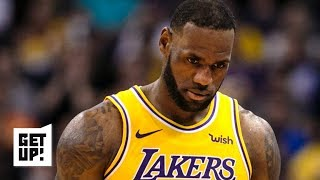 Lakers fans won't stand for LeBron shutting it down – Jalen Rose | Get Up!