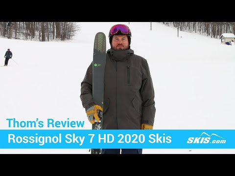 Video: Rossignol Sky 7 HD Skis 2020 20 40