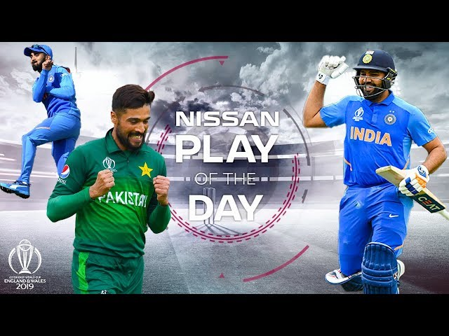 Kuldeep's Delivery? | Nissan Play of the Day | India v Pakistan | ICC Cricket World Cup 2019