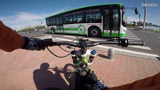 SUR RON Electric Bicycle GOES FAST ON HIGHWAY!